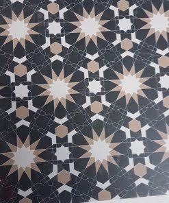 Gạch lát nền 30×30 caro đen trắng