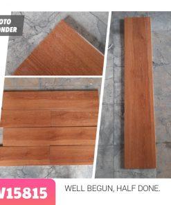 Gạch lát nền giả gỗ 15×80