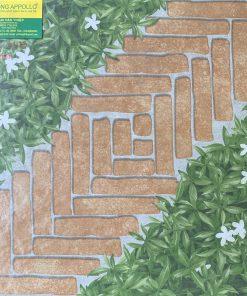 Gạch sân vườn màu xanh giả cỏ tự nhiên