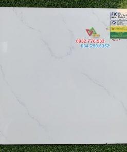 60×60 gạch lát nền màu trắng xả kho PH603