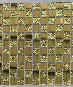 Gạch trang trí mosaic kính thủy