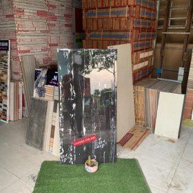 Gạch 60x120 màu đen sọc trắng hàng nhập khẩu Ấn Độ