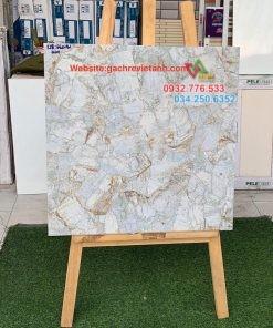 Gạch 60×60 họa tiết hoa văn sắc sảo tại Vĩnh Lộc A