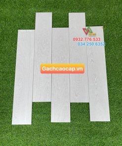 Gạch gỗ màu xám 15×80 thanh lịch