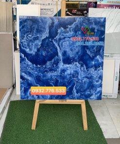 Gạch lát nền TQ 80×80 màu xanh nước biển