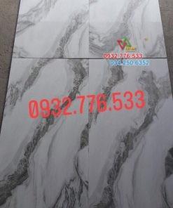Gạch 60×120 màu trắng xám chất lượng cao