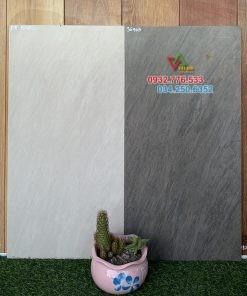 Gạch 30×60 màu trắng xám mờ chất lượng cao