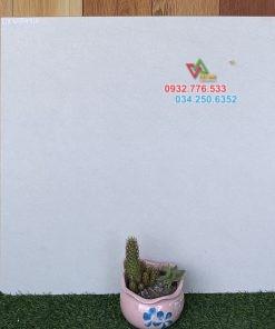 Gạch 60×60 đá mờ màu trắng sọc