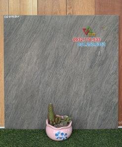 Gạch 60×60 hàng mờ màu xám sang trọng