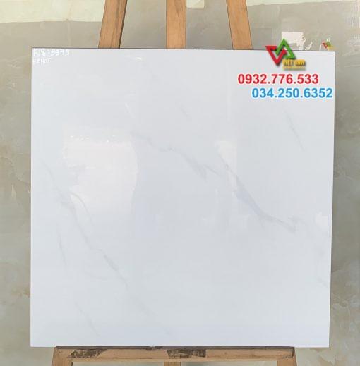 Gạch 60×60 màu trắng bóng kiếng