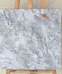 Gạch bóng kiếng 60×60 màu xám vân đá tự nhiên