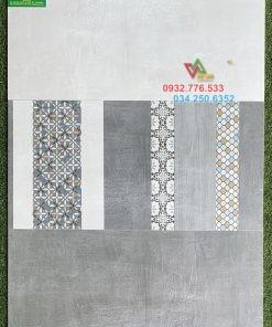 Gạch 30×60 màu xám trắng