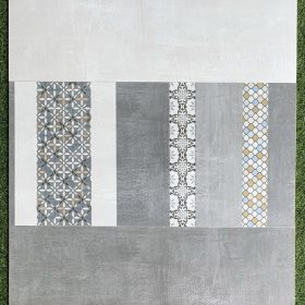 Gạch 30x60 màu xám trắng