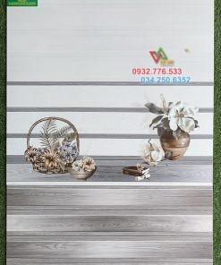 Gạch 30×60 ốp tường màu xám trắng sọc ngang