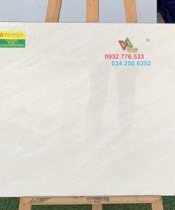 Gạch 60×60 đá bóng kiếng màu trắng sọc