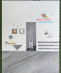 Gạch 30×60 màu xám ốp tường