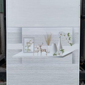 Gạch ốp tường nhà 30x60 màu xám sang