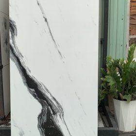 Gạch 60x120 màu trắng vân sọc đen