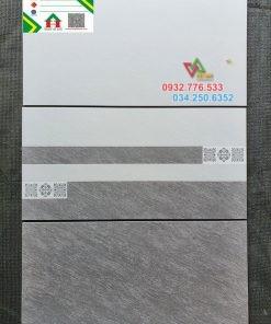Bộ gạch 30×60 màu xám trắng ốp tường
