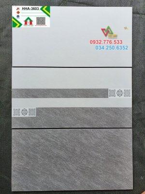 Bộ gạch 30x60 màu xám trắng ốp tường