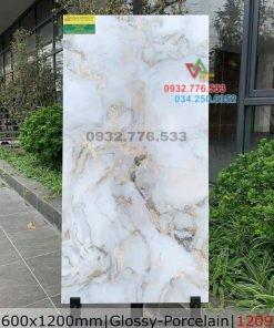Gạch 60×120 đá bóng kiếng marble mã 1209