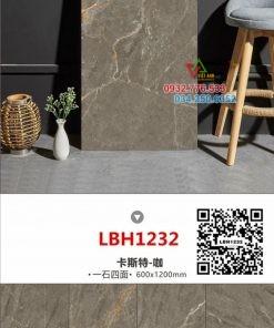 Gạch 60×120 màu xám nhập khẩu LBH1232