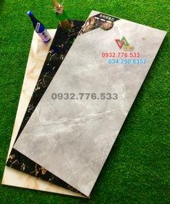 Gạch 60×120 màu xám sọc trắng