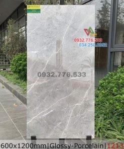 Gạch 60×120 màu xám sọc trắng mẫu mới 2021 mã 1213