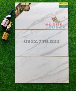Gạch 40×80 màu trắng sọc xám