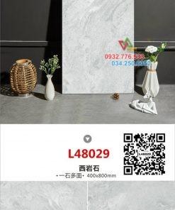 Gạch 40×80 màu xanh da trời mã L48029
